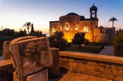 Церковь в Sidon стоковые изображения rf
