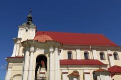 Церковь в Siemiatycze стоковое изображение rf