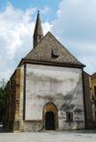 Церковь в Slovenj Gradec стоковое фото rf