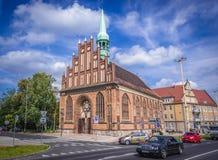 Церковь в Szczecin стоковые изображения rf