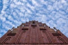 Церковь в Wroclaw Стоковые Изображения