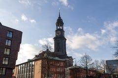 Церковь Гамбург Германия michaelis St стоковые фото