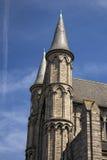 Церковь Гента, Бельгии части St Nicholas Стоковая Фотография RF