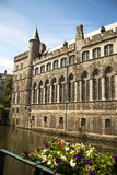 Церковь Гента, Бельгии части St Nicholas Стоковое Изображение