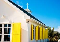 Церковь городка надежды Стоковая Фотография RF
