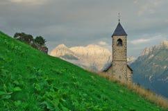 Церковь горы Стоковые Изображения
