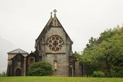церковь готская Шотландия стоковые изображения