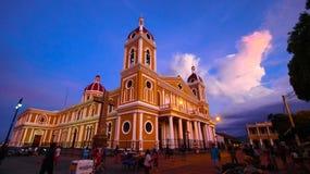 Церковь Гранады Стоковая Фотография