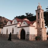 церковь Греция Стоковые Фотографии RF