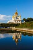 Церковь дворца святой Питера и Паыля в Peterhof Стоковые Фото