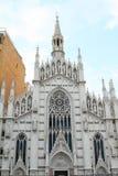 Церковь девой марии на учреждении виска Minerva Стоковые Фото