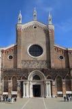 Церковь Джона и Пол в Венеции, Италии стоковые фото