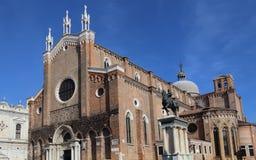 Церковь Джона и Пол в Венеции, Италии стоковые фотографии rf