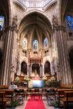 церковь европа Стоковые Фото