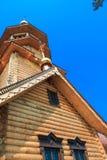 церковь деревянная Стоковая Фотография