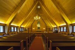 церковь деревянная Стоковые Фотографии RF