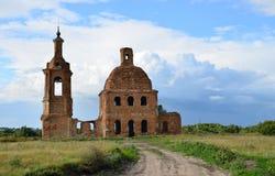 церковь загубила Стоковые Фотографии RF
