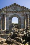 церковь загубленная Мексика Стоковые Изображения RF
