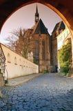 церковь замока стоковые изображения