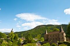 церковь замока Стоковые Фото