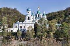 Церковь заступничества и собор предположения Стоковая Фотография