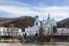 Церковь заступничества и собор предположения Стоковые Фото