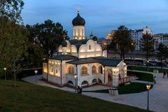 Церковь зачатия St. Anna стоковые изображения