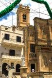 Церковь залива St Pauls, Мальта Стоковые Изображения