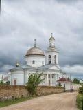 Церковь значка благословленной девственницы Стоковое фото RF