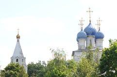 Церковь значка Казани матери бога в Kolomenskoye стоковое изображение rf
