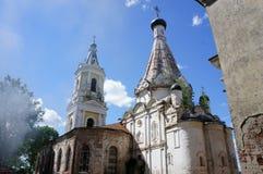 Церковь значка матери бога погибать столетия XIX Стоковая Фотография RF
