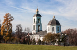 Церковь значка матери ` весны ` бога животворного в Tsaritsyno, Стоковое Изображение RF