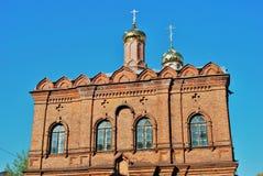 Церковь значка Tolga матери бога Стоковые Фото