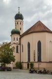Церковь иезуита, Straubing, Германия стоковое изображение