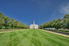 Церковь Иисуса Христоса в Сент-Луис Стоковое фото RF