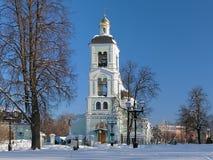 Церковь иконы нашей дамы в Tsaritsyno, Москве, России Стоковые Изображения RF