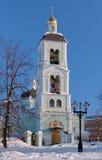 Церковь иконы нашей дамы в Tsaritsyno, Москве, России Стоковое Фото