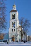 Церковь иконы нашей дамы в Tsaritsyno, Москве, России Стоковое Изображение