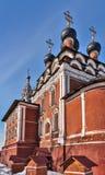 Церковь иконы Theotokos Казани в Kotelniki, Москве regio Стоковое Изображение