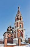 Церковь иконы Theotokos Казани в Kotelniki, Москве regio Стоковая Фотография
