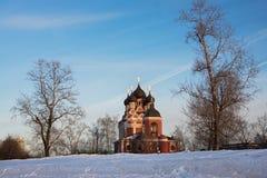 Икона Tikhvinkaya церков Theotokos стоковая фотография