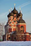 Церковь иконы Tikhvinkaya Theotokos Стоковые Фотографии RF