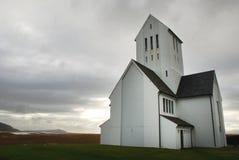 Церковь Исландия Skalholt Стоковые Изображения RF