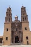 Церковь идальго Долореса в Мексике Стоковое Фото