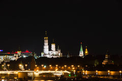 Церковь и башни Кремля Стоковое Изображение