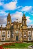 Церковь и больница Sao Маркоса, Браги, Португалии Стоковое Фото