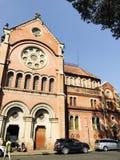Церковь и голубое небо Вьетнам Стоковое фото RF