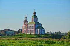 Церковь Илии пророк в Кремле в Suzdal, России стоковое изображение rf