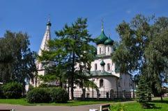 Церковь Илии пророк в Yaroslavl стоковые фотографии rf