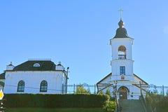 Церковь Илии пророк и дом священника в Выборге, России стоковое фото